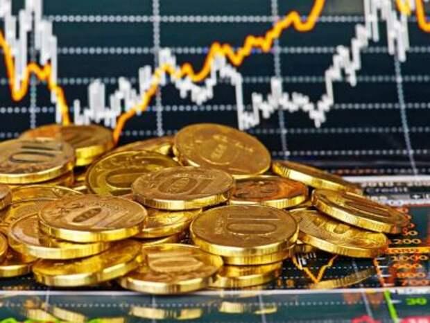 Рынок акций продолжает рост, рубль слабеет к доллару