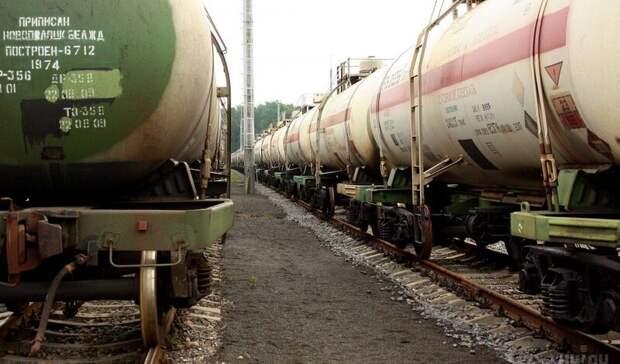 Первая партия белорусских нефтепродуктов отправлена на перевалку вУсть-Лугу