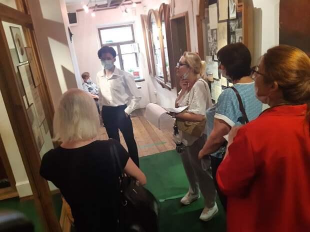 Школьник из Лосинки стал экскурсоводом в Музее Есенина