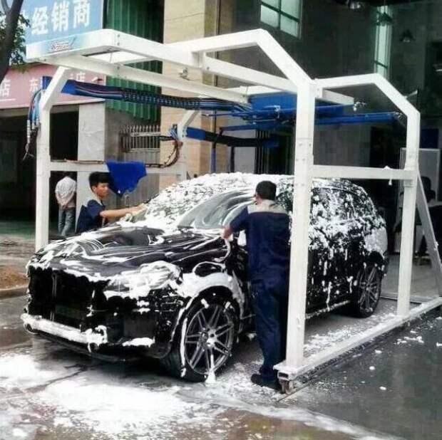 Японцы почти никогда не моют свои автомобили