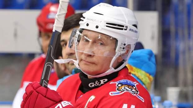 Путин сыграет за команду «Легенд хоккея» в гала-матче Ночной хоккейной лиги