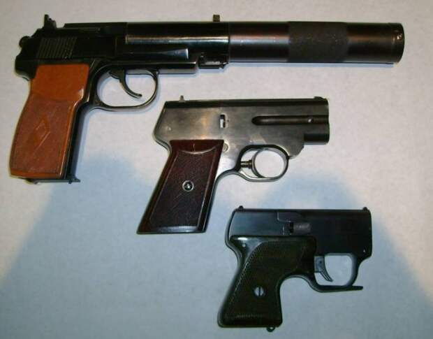 Оружие советского спецназа. Бесшумный пистолет «Гроза»