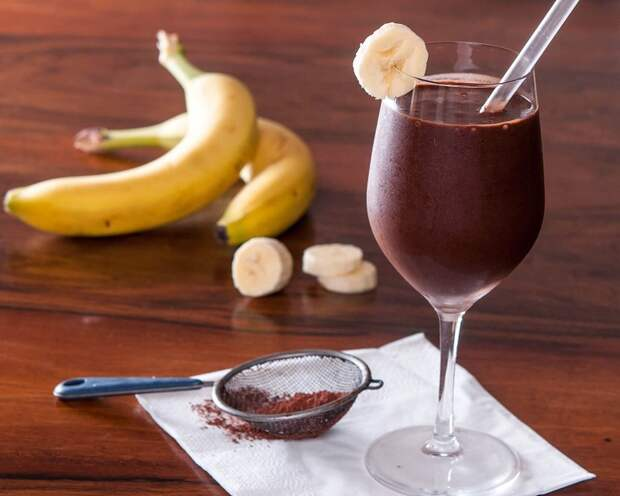 какао с ромом