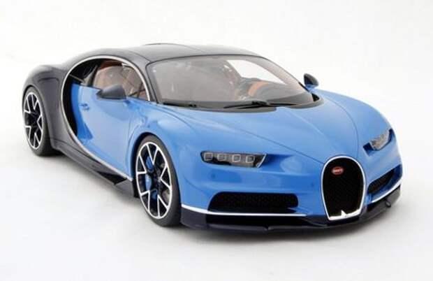 Масштабную копию Bugatti Chiron продают по цене полноценного автомобиля