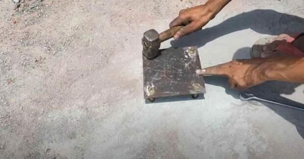 Как сделать металлическую винтовую лестницу
