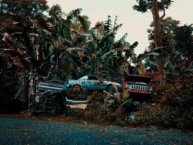 Гавайское кладбище автомобилей