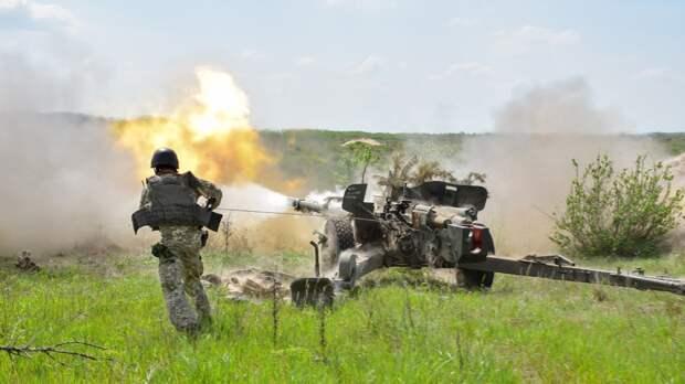 Бойцы ВСУ разместили зенитные установки на линии соприкосновения в Донбассе