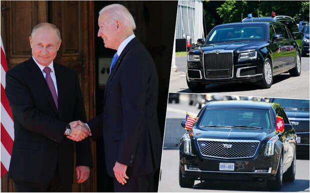 Встреча Путина и Байдена - И я там был и ...
