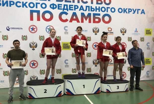 Самбистки из Усолья завоевали три медали на первенстве Сибири среди девушек 12-14 лет