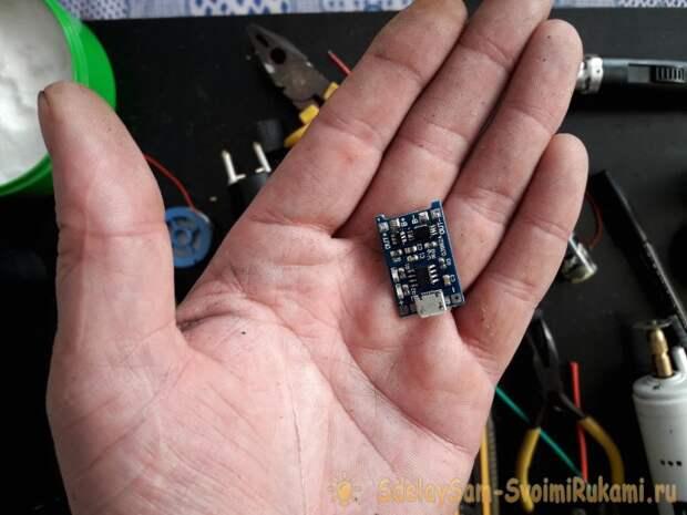 Как сделать простой электрошокер