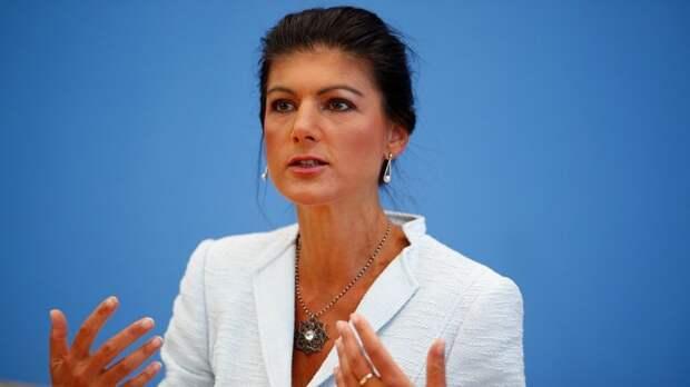 Welt: Сара Вагенкнехт предостерегла от двойных стандартов в спорах о «Северном потоке-2»