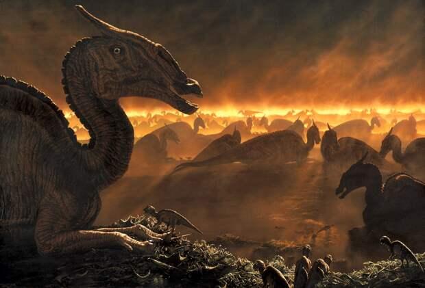 Геологи сняли с вулканов вину в гибели динозавров