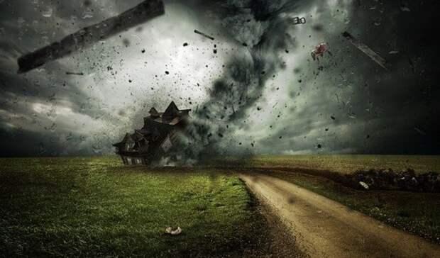 Сильный дождь иураганный ветер до20 метров всекунду накроют Ростов