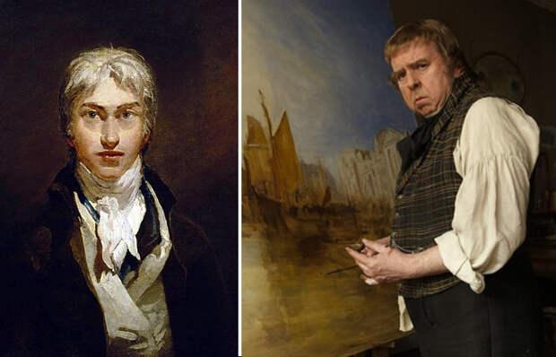 Автопортрет художника и кадр из фильма
