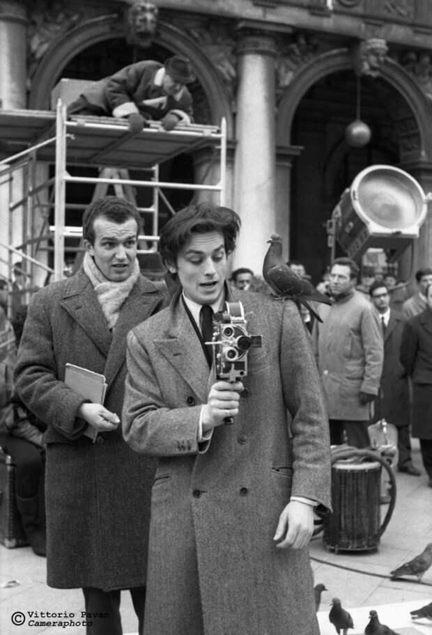 Редкие фотографии знаменитостей изВенеции 50−60-х годов