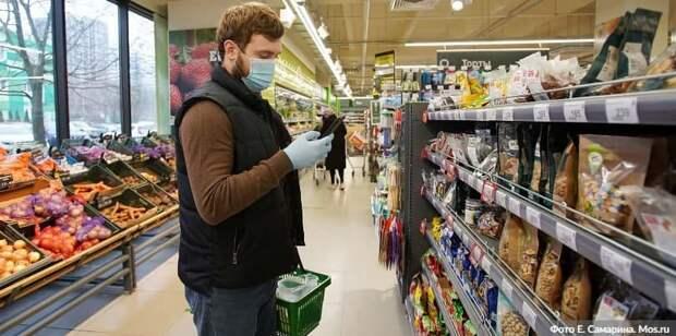В трех ТЦ на севере Москвы оштрафовали 68 покупателей без масок и перчаток