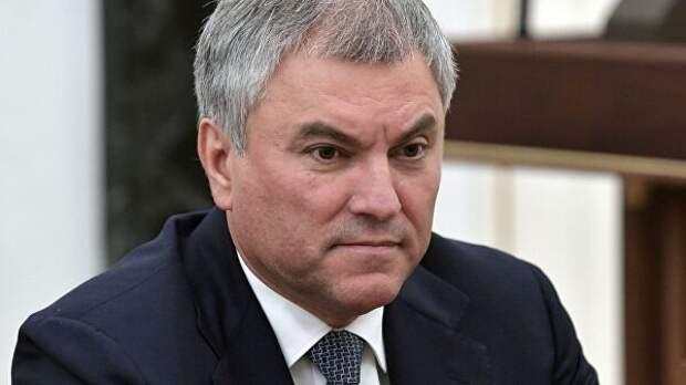 Володин призвал исключить Украину из СЕ после гибели ребёнка в Донбассе