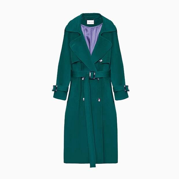 Длинное осеннее пальто I AM Studio