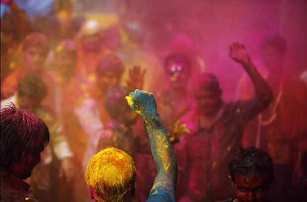 Праздник Холи в Индии