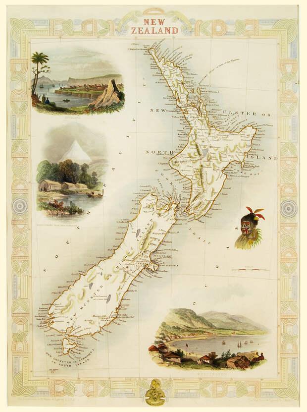 Где находится Зеландия, в честь которой назвали Новую Зеландию