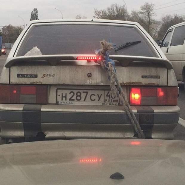 Старенький ВАЗ способствовал развитию смекалки автопром, первая любовь, россия