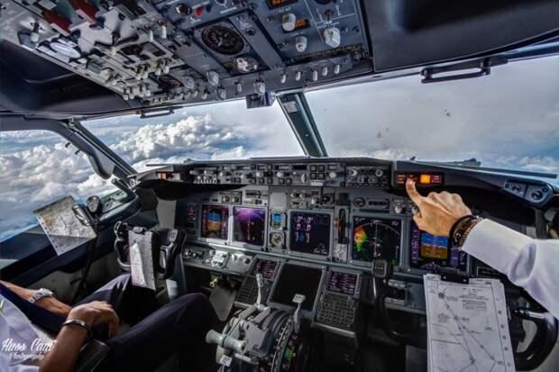 fromcockpit09 25 фотографий, сделанных пилотами из кабин самолетов