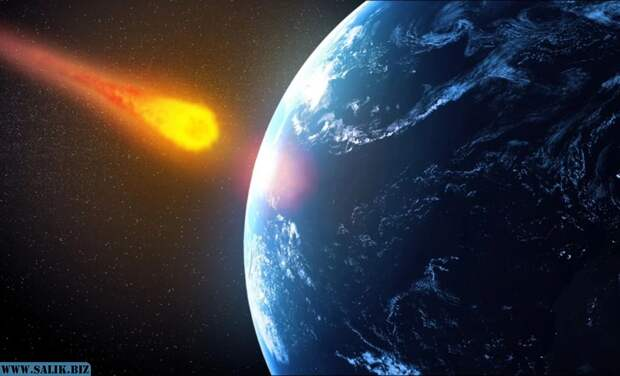 Ученые показали, что будет если на Землю упадет огромный астероид