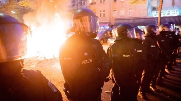 Празднование Первомая в Берлине завершилось массовыми беспорядками