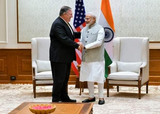 США встали насторону Индии веёпограничном споре сКитаем