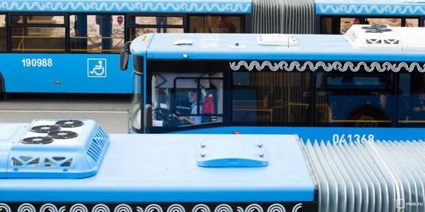 У автобуса, следующего от Братцева в Куркино, появится новая остановка