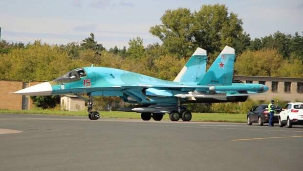 Минобороны РФ: истребители Су-34 готовы нести боевую службу в Арктике