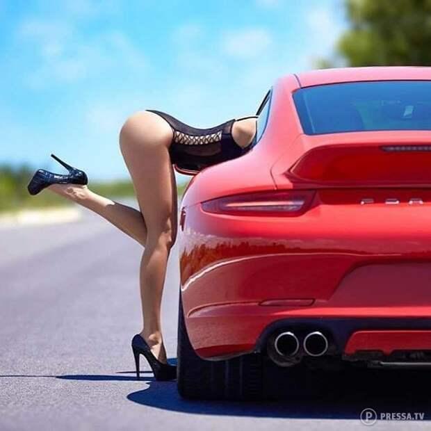 красотки и автомобили