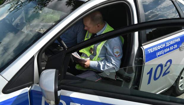 На дорогах Подольска за прошедшие выходные выявили пятерых пьяных водителей