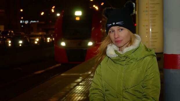 Поезд, Станция, Метро, Электричка, Мцк, Локомотив