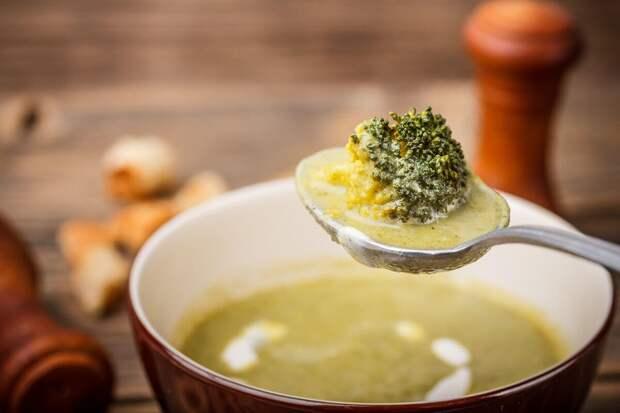 Диетический суп с брокколи: рецепт с мясом и рисом
