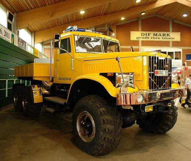 Подборка крутых грузовиков КрАЗ
