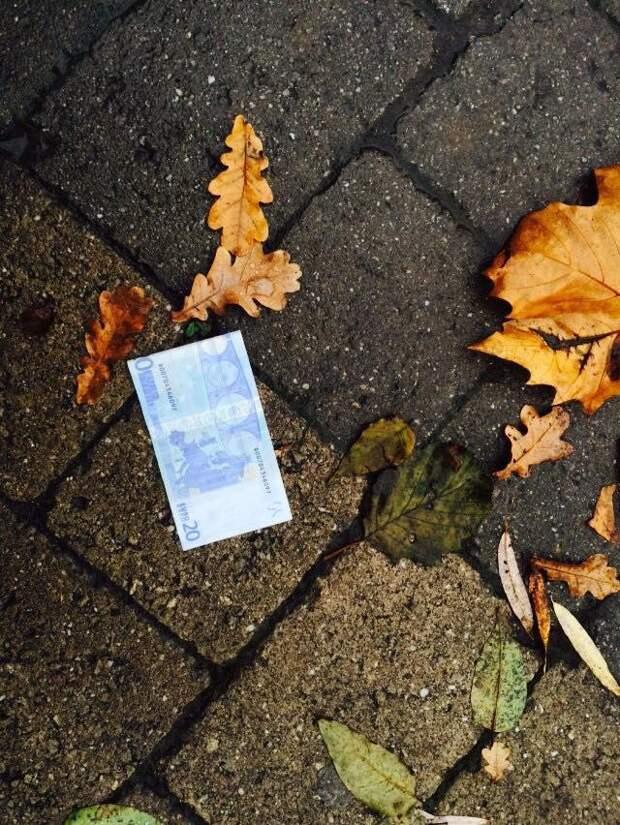 Прогулка по деревушке, где с неба падают евро