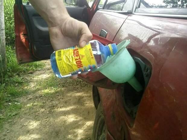 О пользе ацетона в автомобиле