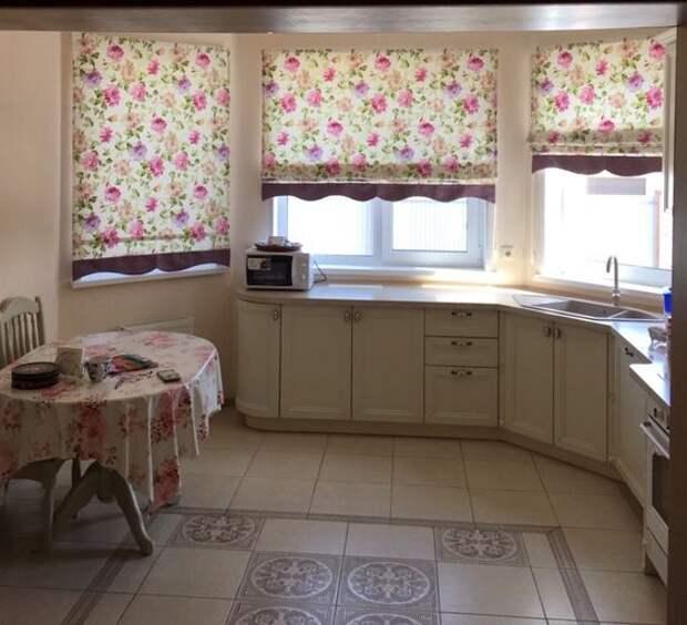 20 чудесных идей, как украсить окно на кухне шторами