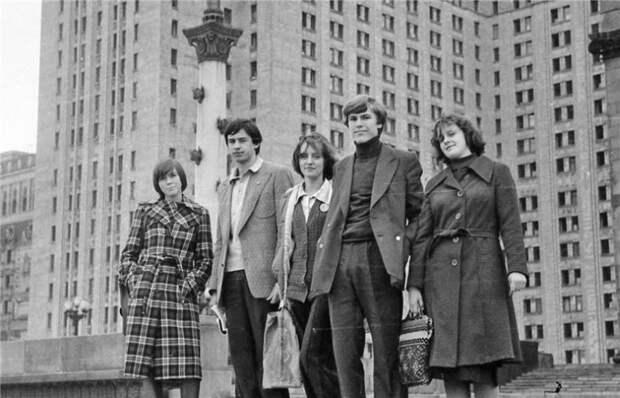 Эти удивительные советские студенты.