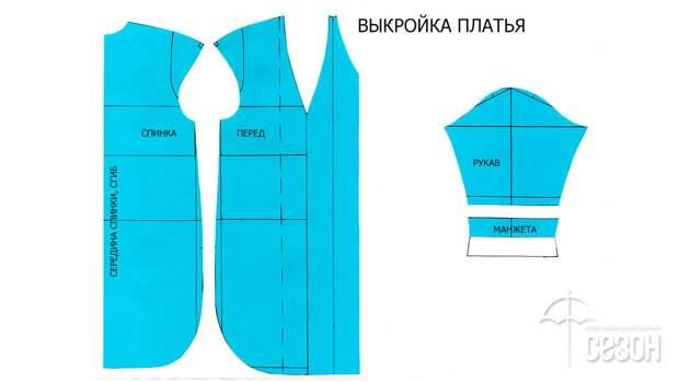 Моделирование V-образной горловины со складками 6