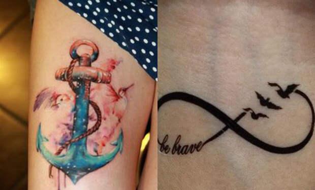 Модные в прошлом татуировки, которые сегодня всем хочется убрать