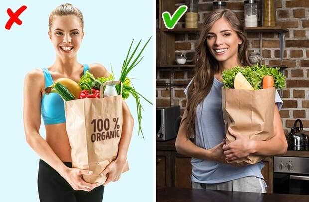 Эти 10 ошибок совершают даже гуру здорового питания