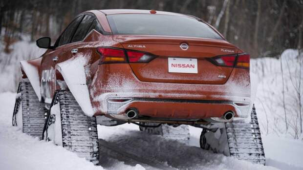 Идеальный седан для суровых зим: новый концепт от Nissan