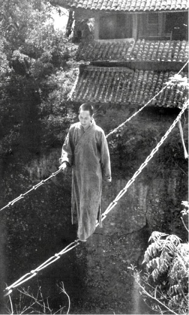 Цепной мост. Китай, 1930-е годы. Весь Мир, история, фотографии