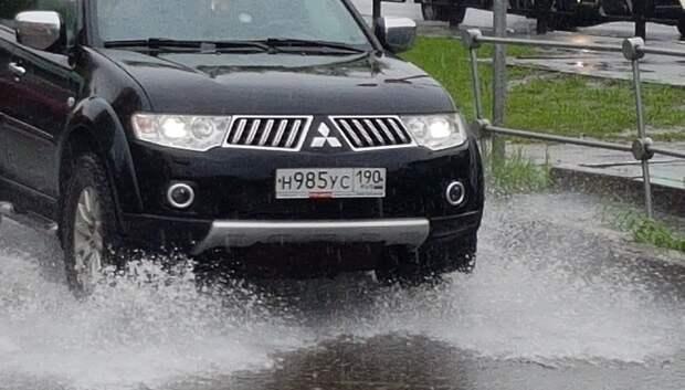 Воробьев поручил ликвидировать последствия ливней в Подмосковье к вечеру понедельника