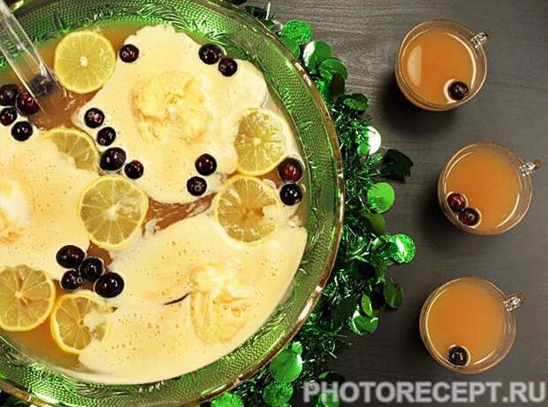 Спиртные напитки. Фруктово-ягодный пунш
