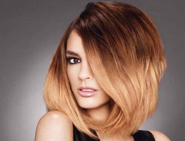 Модное окрашивание 2021 на средние волосы