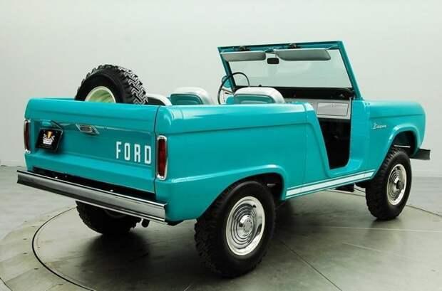 Ford Bronco Roadster, 1966 г. авто, автодизайн, автомобили, внедорожник, двери, дверь, дизайн, интересные автомобили