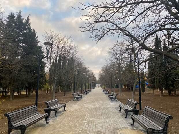 Сквер Севастопольских курсантов готовят к открытию